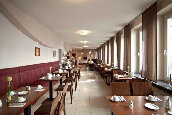 Novum Hotel Eleazar Hamburg City Center: Frühstücksraum