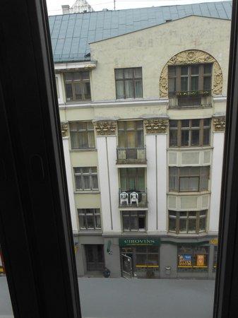 Tallink Hotel Riga: вид из окна