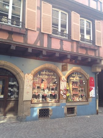Maison Martin JUND - Chez Cécile et Myriam : The gingerbread shoppe in Colmar