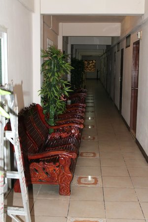Thai City Palace: коридоры