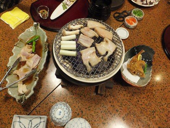 Yoshifumi: 焼きフグ