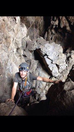 Chiang Mai Rock Climbing Adventures: Ausstieg bei der Höhle