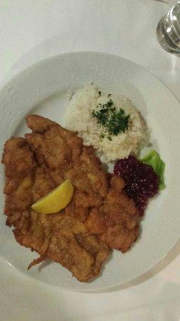 Gasthof Rettenbachmuhle: Schnitzel