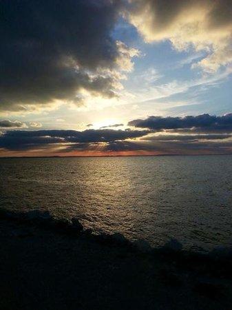 Melia Cayo Santa Maria: beautiful view of sun setting