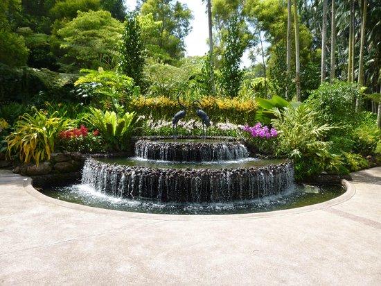 Jardines Botánicos de Singapur: entrance to Orchid Garden