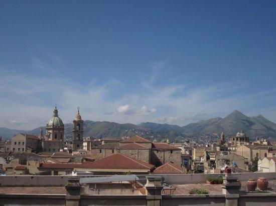 Ambasciatori Hotel: Looking west