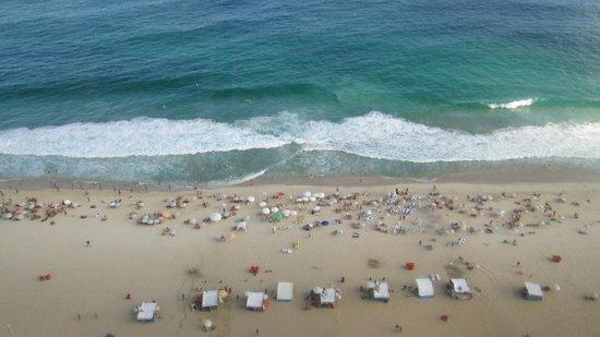 Caesar Park Rio De Janeiro Ipanema Managed by Sofitel: vista dos apartamentos de frente para o mar