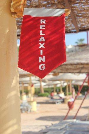 Savoy Sharm El Sheikh: Relaxing at the Beach