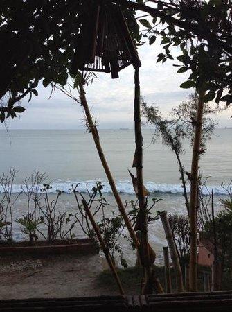 Hosteria  Ecologica El Faro: Rico amanecer!!