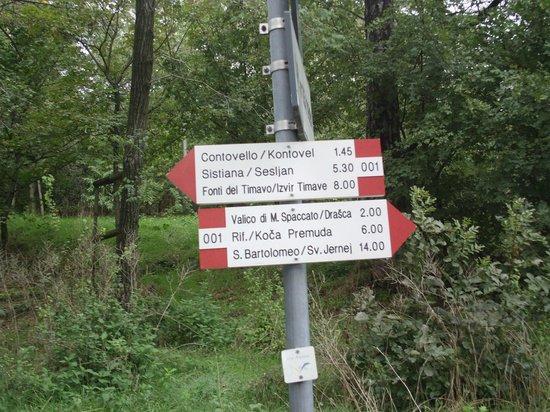 Carso Triestino: sentieri ben segnati