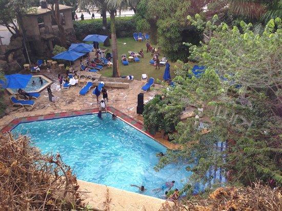 Impala Hotel: プールでは欧米人が遊んでました