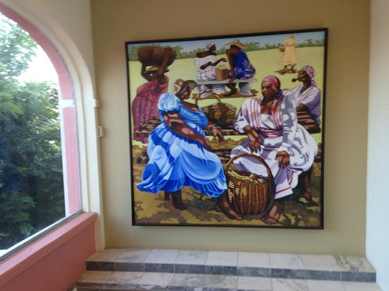 The Buccaneer -- St Croix: Some art in the Main House