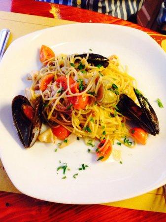 Agli Artisti da Piero : Sea food pasta