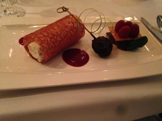 Le Versace: Dessert!