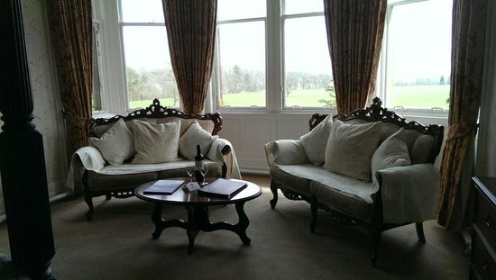 Friars Carse Country House Hotel: Oak room