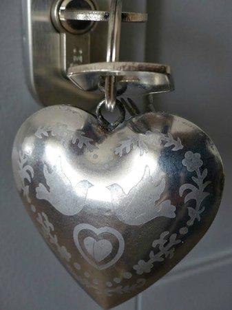 Au Coeur Des Hôtes : Porte clé