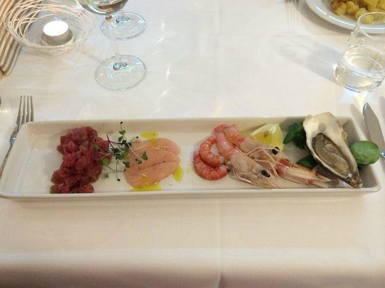 Al Gallo: Crudo di pesce