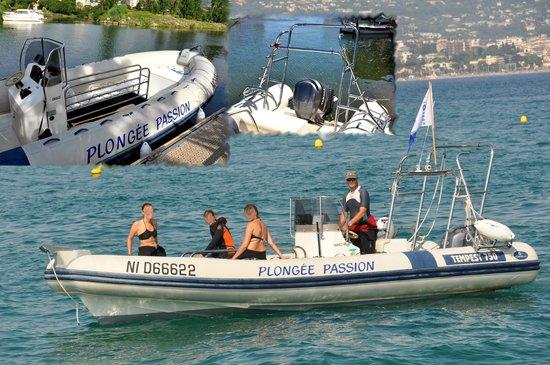 Plongee Passion : Le bateau Plongée Passion