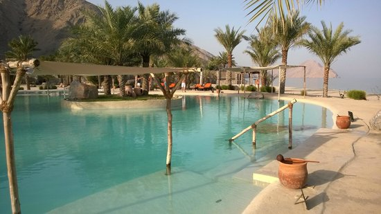 Six Senses Zighy Bay: Salt Water Pool