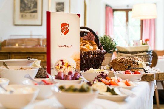 Schloss Prielau: Frühstück