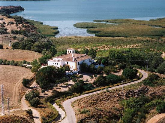 Hacienda El Santiscal: vista aerea