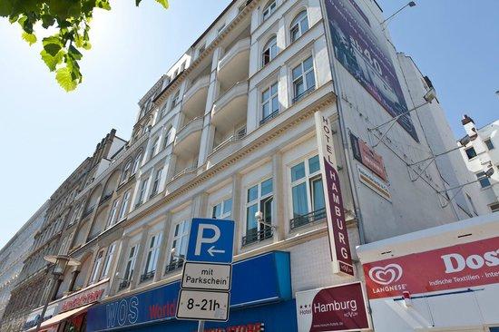 Novum Hotel Hamburg Stadtzentrum: Hotelansicht
