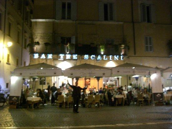 Bar Tre Scalini : Exterior of Tre Scalini, Rome