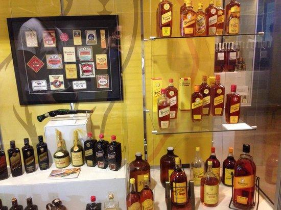 Bundaberg Rum Distillery: One of the many displays.