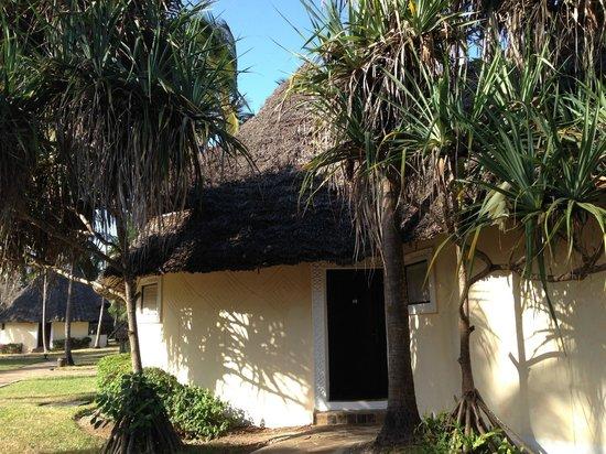 Ocean Paradise Resort & Spa: アフリカの我が家です