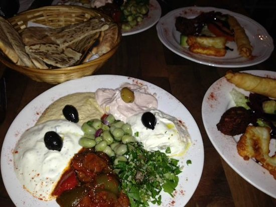 A La Turka: Cold Meze platter