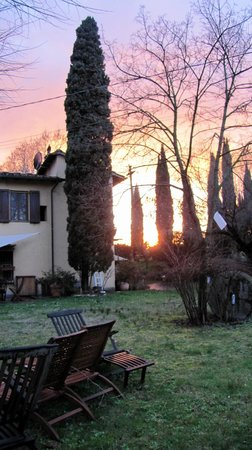 Bed and Breakfast La Martellina: vista dal giardino