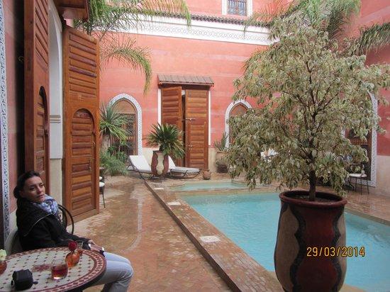 Riad Alili: Interieur du riad