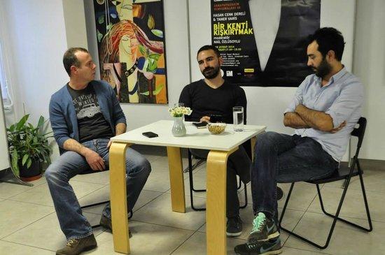 """Kedi Kultur Sanat Merkezi: Nail Özlüsoylu Moderatörlüğünde """"Sanat ve Tasarım Konuşmaları"""""""