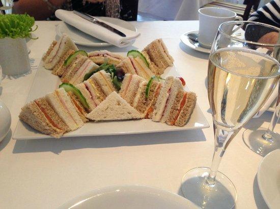 The Kilns Hotel: Sandwich selection