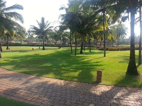 Park Hyatt Goa Resort and Spa: Lush lawns