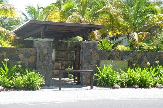 Emeraude Beach Attitude: Entrée hôtel
