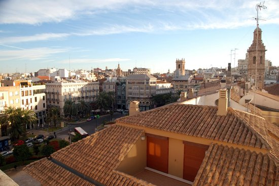 Carrera Luxury: Catedral apartments- view from terrace