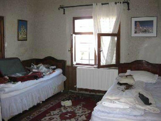 Cave Hotel Saksagan : 部屋の内部