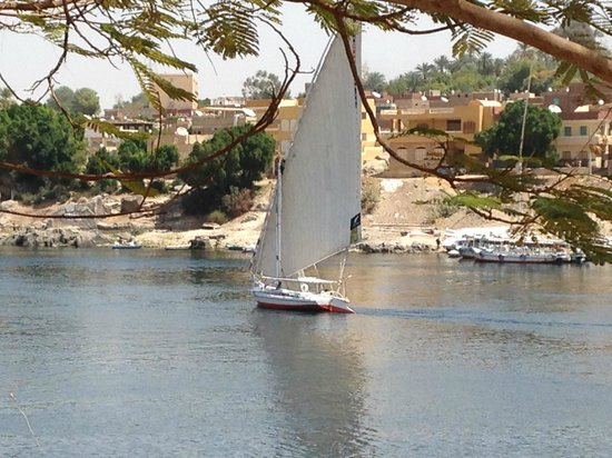 LTI - Pyramisa Isis Island Resort & Spa : felouque sur le Nil