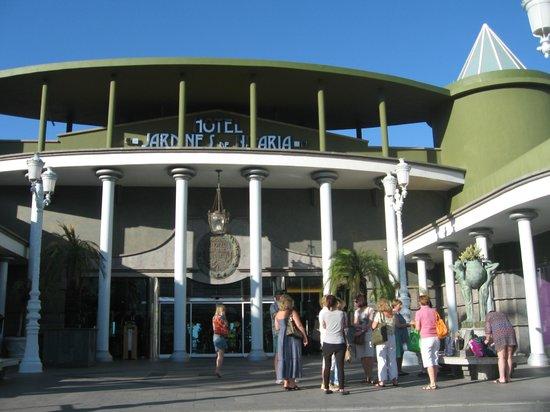 Jardines de Nivaria - Adrian Hoteles: центральный вход