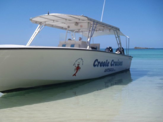 Creole Cruises Antigua: The cruise boat