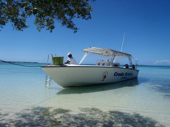 Creole Cruises Antigua: The Boat