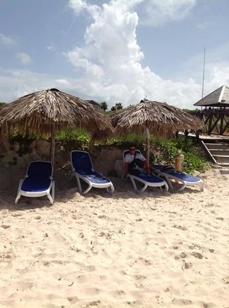Royalton Cayo Santa Maria: Raxon in the shade