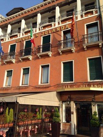 Hotel Savoia & Jolanda : Hotel front