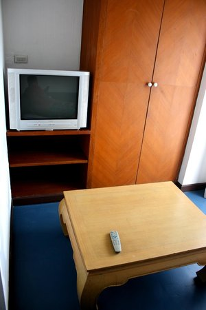 The XP Bangkok Hotel: TV in the small living room