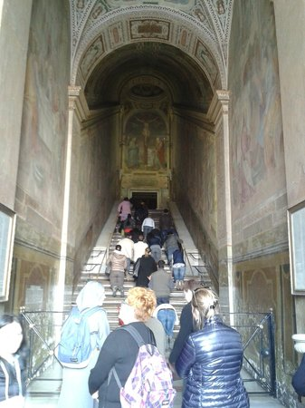 Scala Santa and Chapel of San Lorenzo: Fedeli