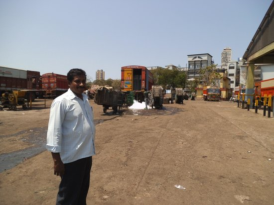 Gateway of India: Sunil - our driver and guide