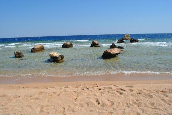 Citadel Azur Resort: Море, где камни, там начинается рифовая поверхность