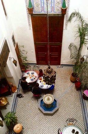 RIAD SUNRISE : petit dejeuner marocain