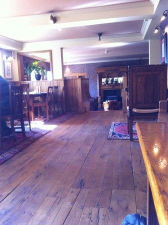 The Bear's Paw: One of the many dining areas